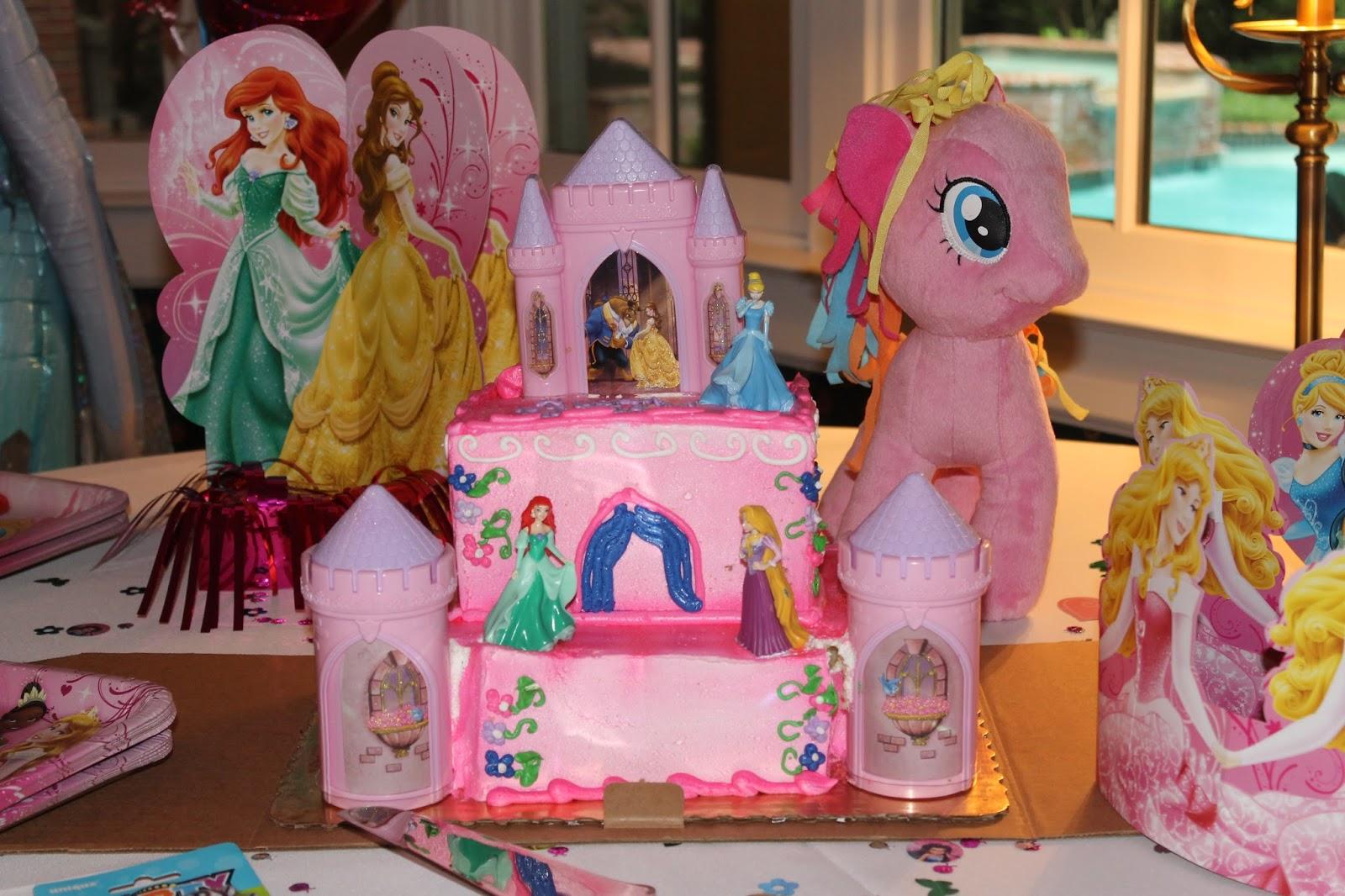 Publix Princess Birthday Cakes