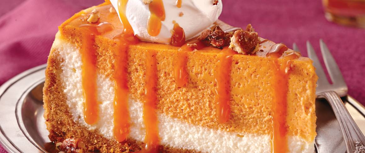 Pumpkin Caramel Cheesecake Recipe