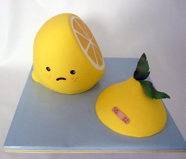 12 Photos of Lemon Themed Cakes