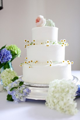 6 Photos of Simple Summer Circle Cakes