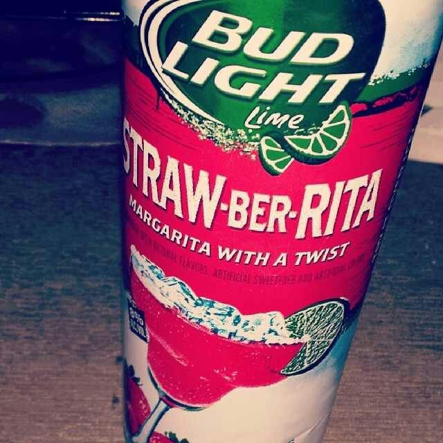 Straw-Ber-Rita Bud Light