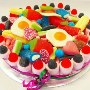 Sweet Cakes with Candy