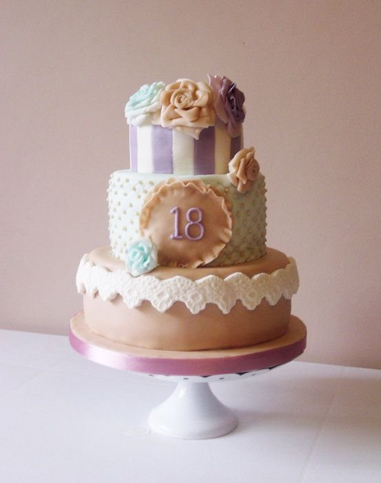 Vintage Birthday Cake Ideas