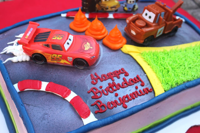 Walmart Cars Birthday Cake