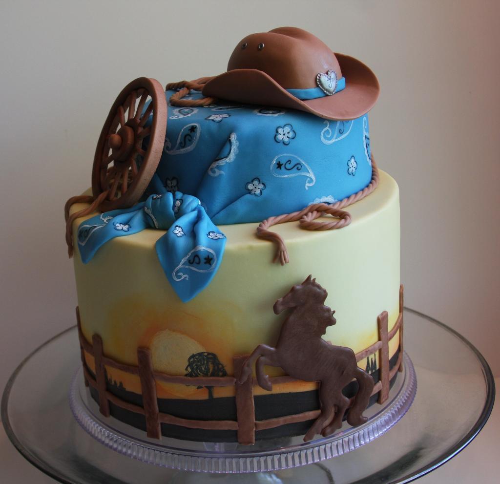 Western Cake Designs
