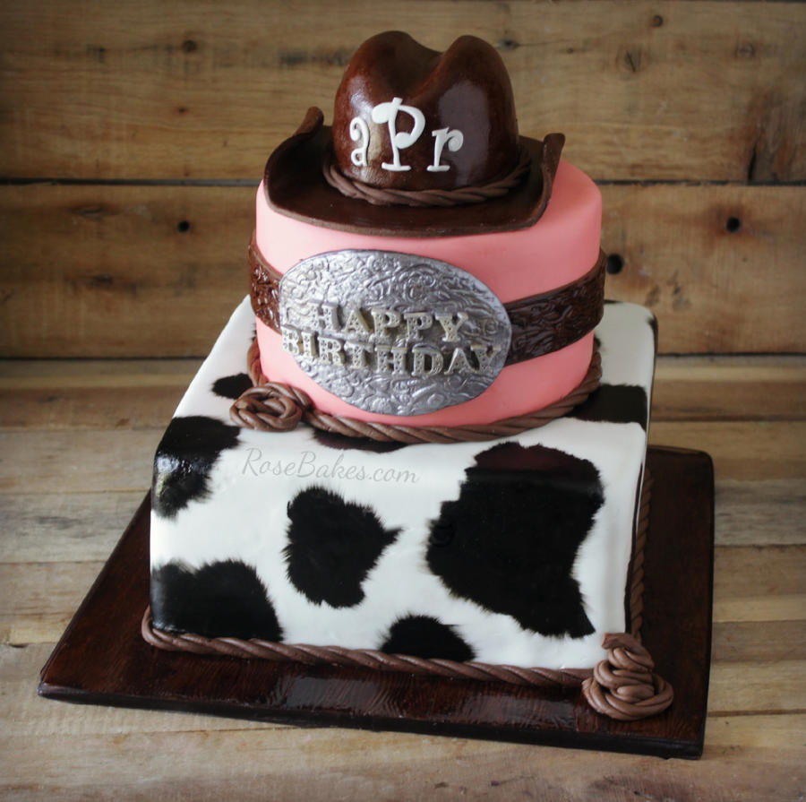 Western Cowgirl Cake