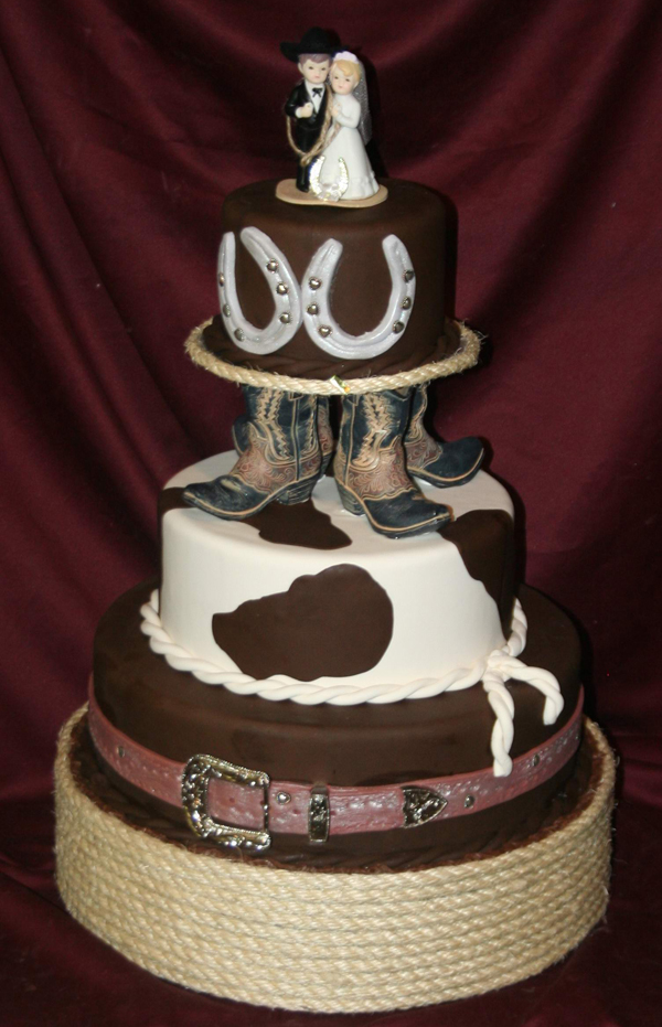 Western Wedding Cake Ideas