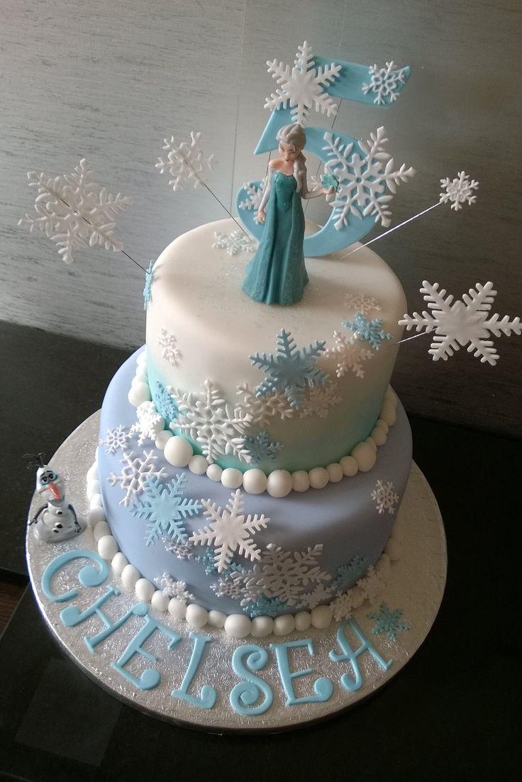 2 Tier Cake Frozen