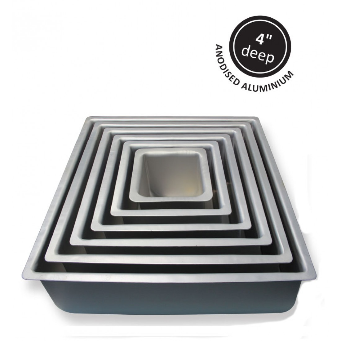 4 Inch Square Pan