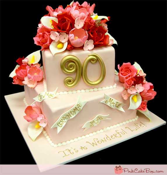 11 Photos of 90th Birthday Cakes For Mom