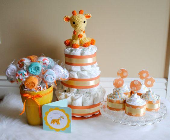 Baby Shower Diaper Cake Ideas
