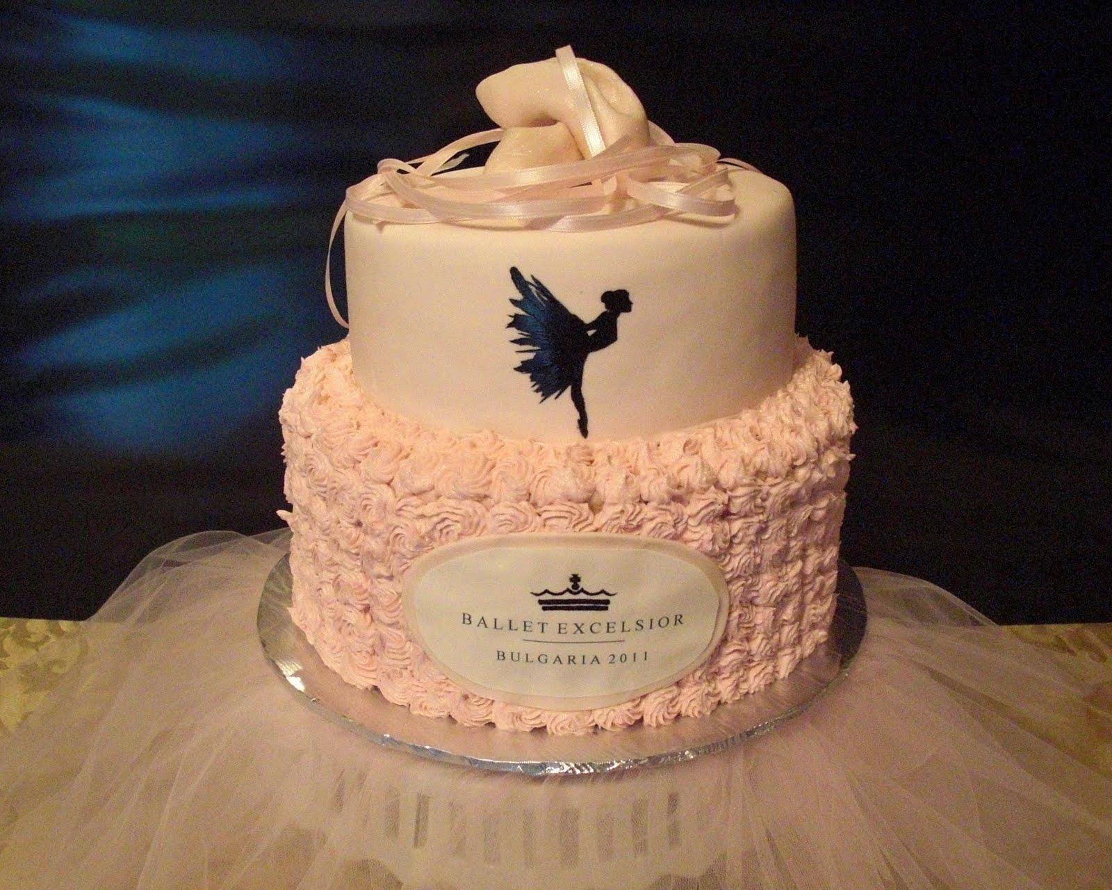 Ballet Cake Buttercream