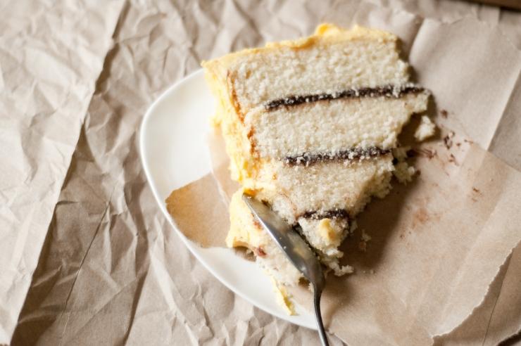 Birthday Yellow Cake Recipe