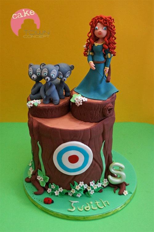 Brave Princess Cake