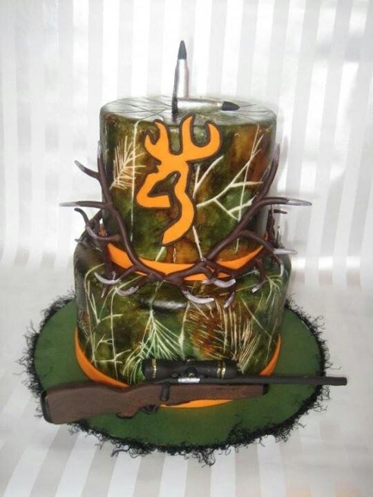 Browning Hunting Cake
