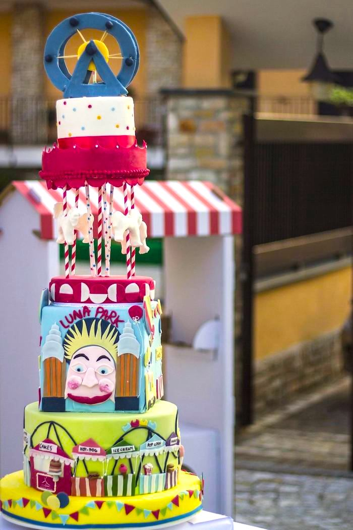 Carnival Fair Birthday Party Ideas