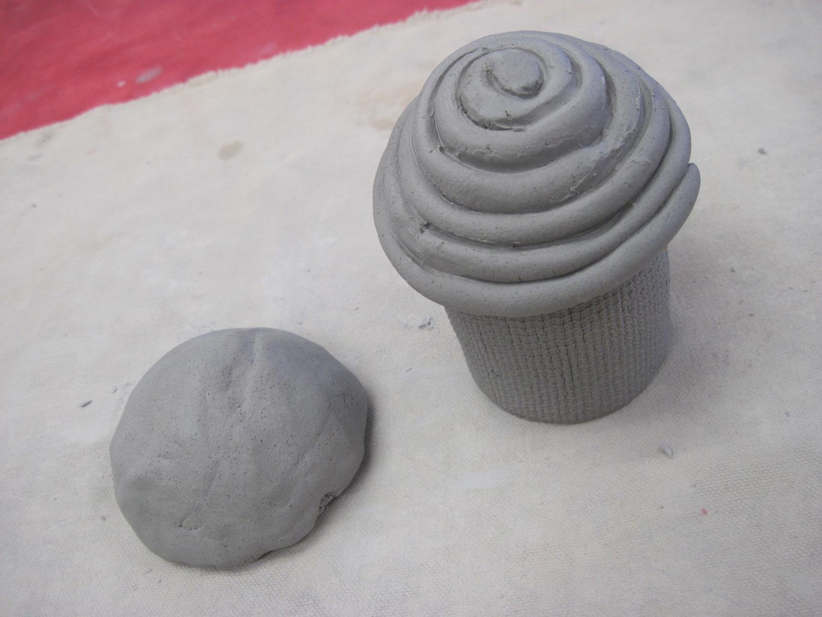 Ceramic Cupcake Project