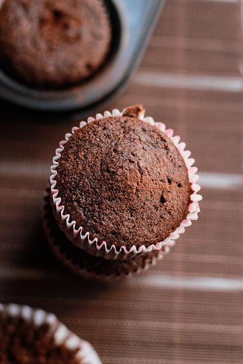 Chili and Chocolate Cupcake