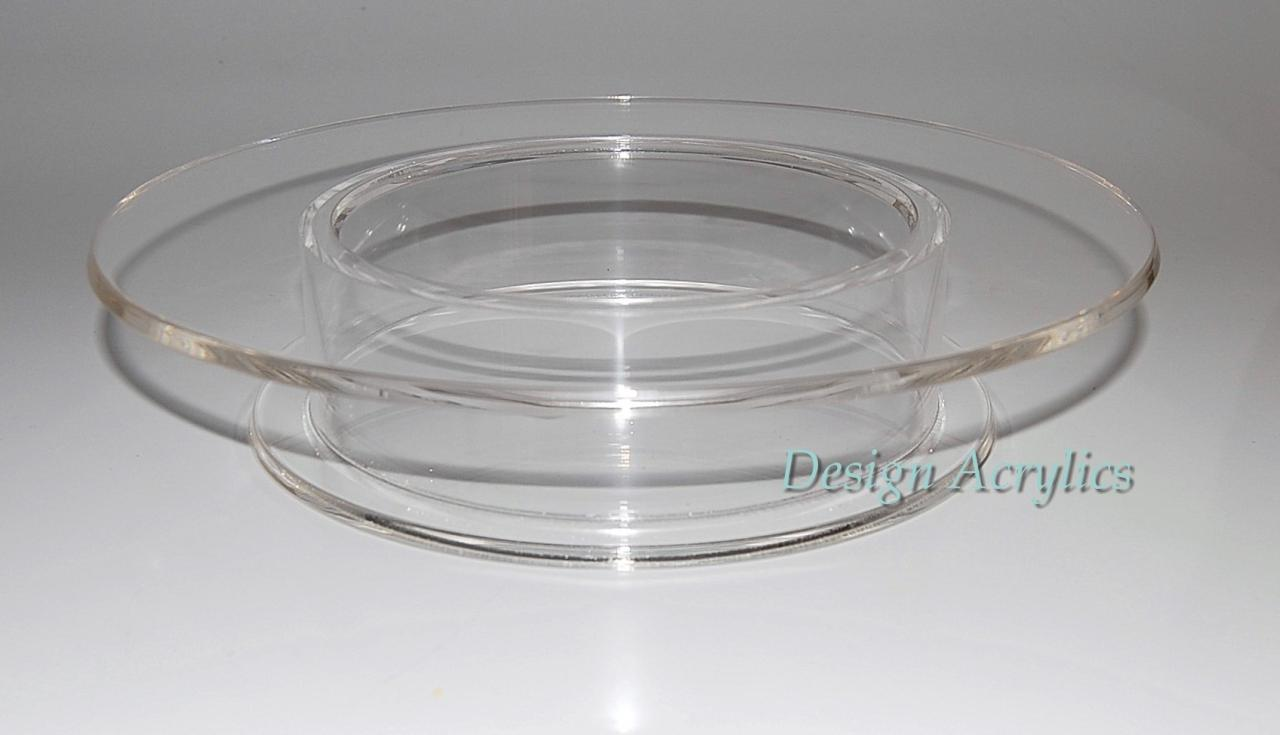Clear Acrylic Wedding Cake Stands