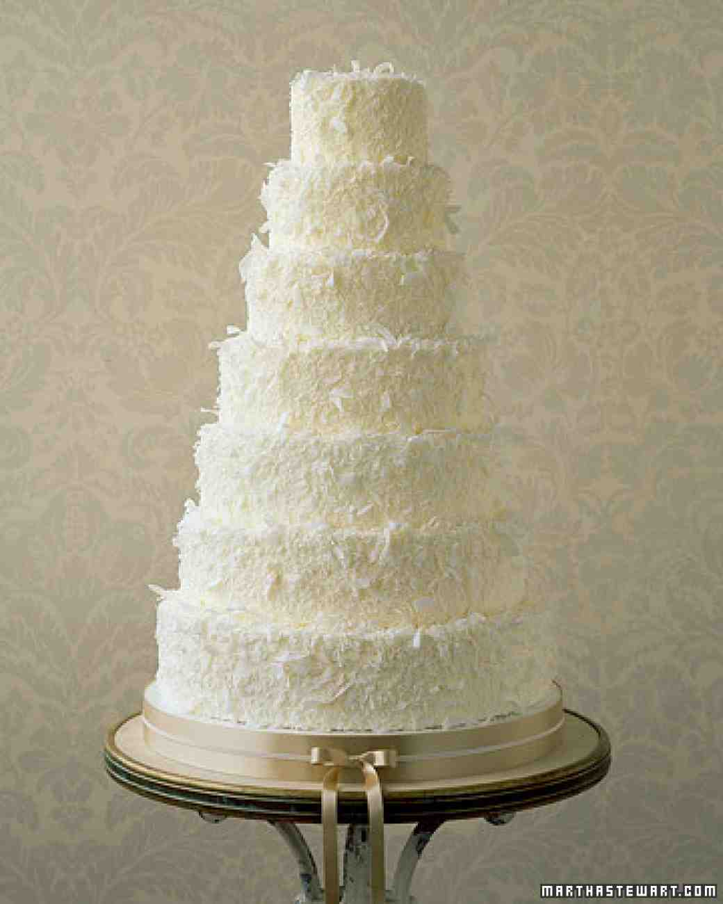 5 Photos of Coconut Buttercream Wedding Cakes