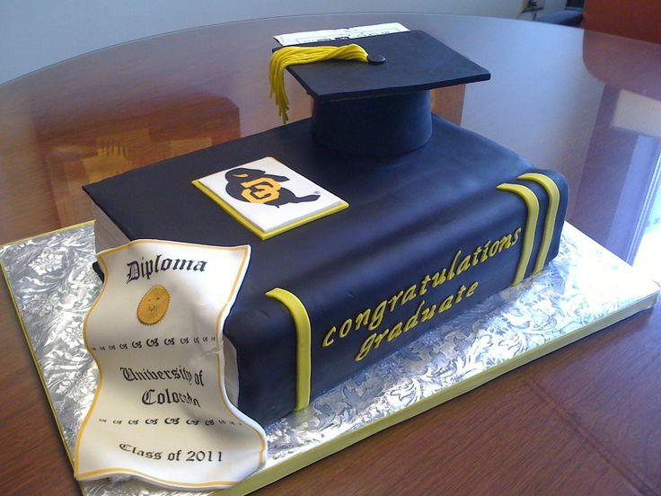 7 Photos of Graduation Cakes Google