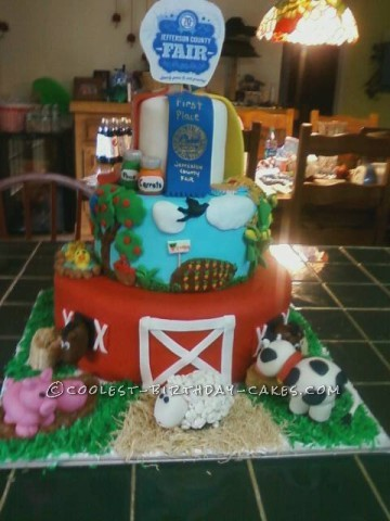 County Fair Birthday Cake Ideas