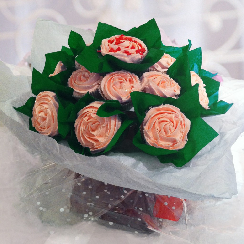 Cupcake Flower Bouquet Cake