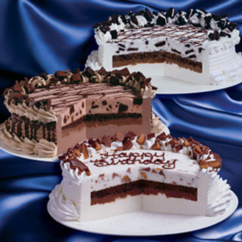 Dairy Queen Blizzard Ice Cream Cakes