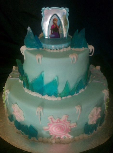 Disney Frozen Movie Birthday Cakes