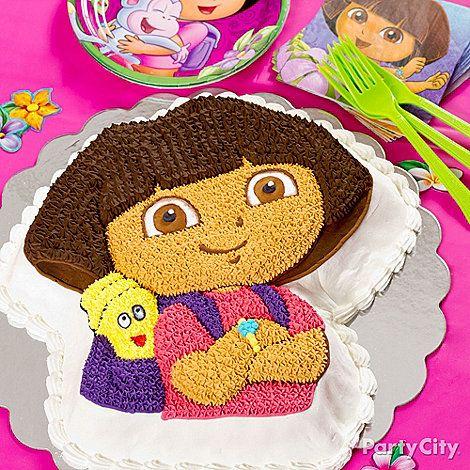 Dora Birthday Party Cakes