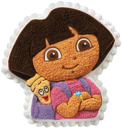 Dora the Explorer Cake Pan Wilton