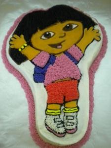 Dora the Explorer Cake Pan