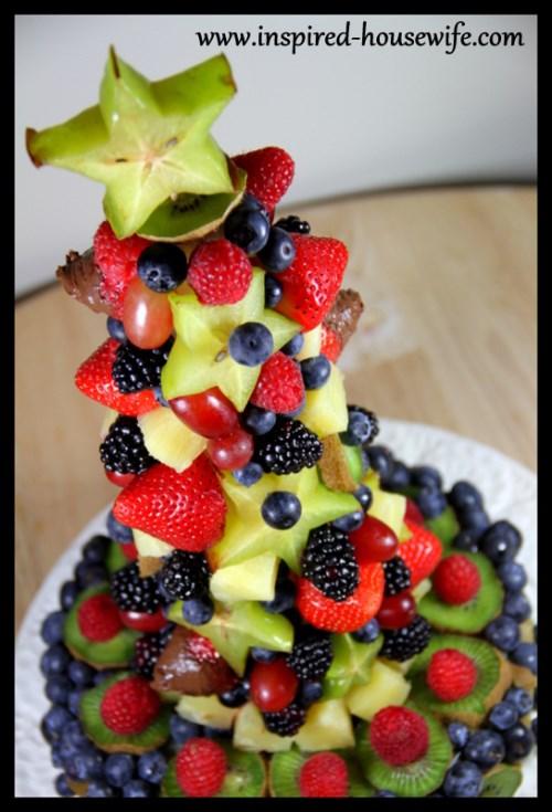 9 Photos of Edible Fruit Birthday Cakes