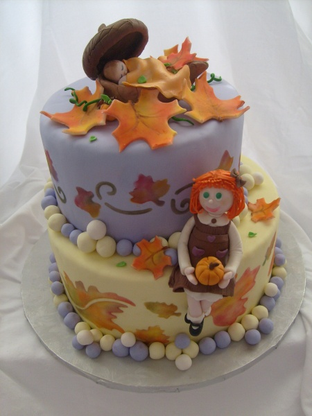 Fall Baby Shower Cake Ideas
