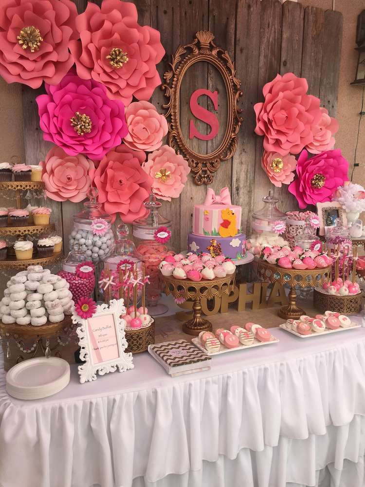 Floral Baby Shower Ideas