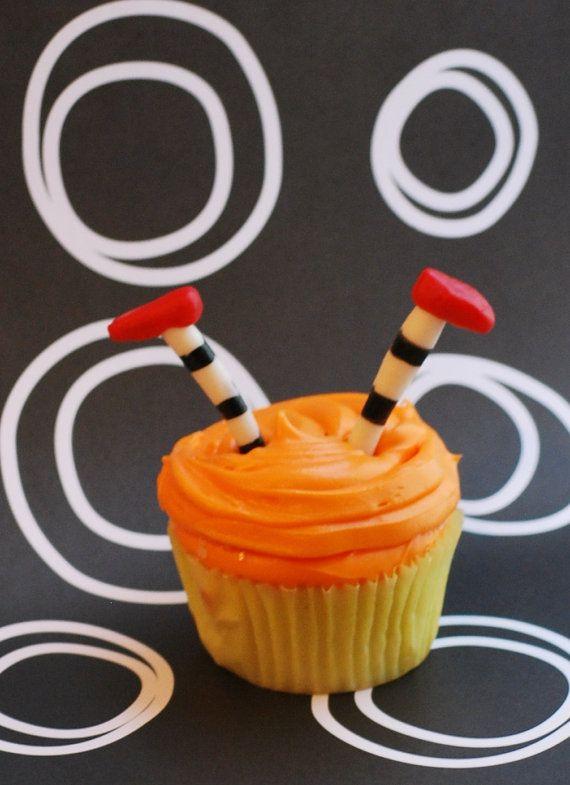 Fondant Halloween Cupcake Witch Topper
