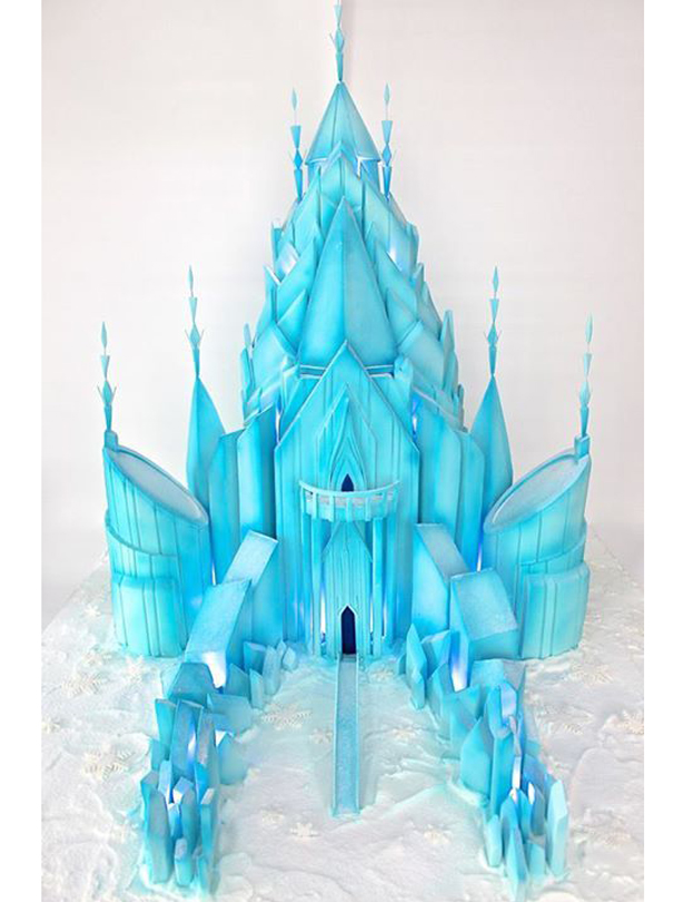 Frozen Castle Birthday Cake Ideas