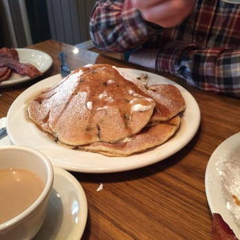 Giant Chocolate Chip Pancake