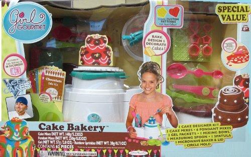 Girl Gourmet Cake Bakery Set