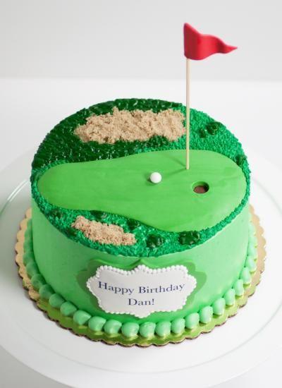 Golf Birthday Cake Decorations