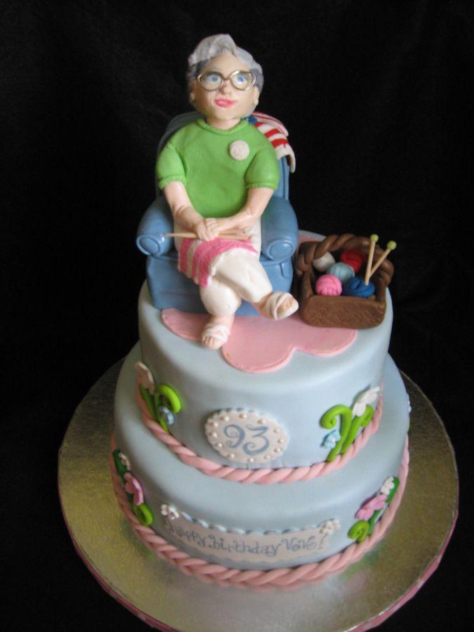 12 Photos of Birthday Cakes Designs With Grandma