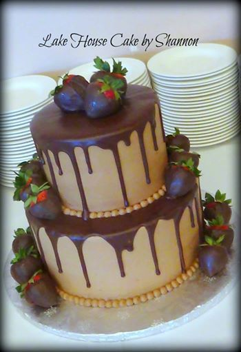 7 Photos of Grooms German Chocolate Cakes With Chocolate Covered Strawberries