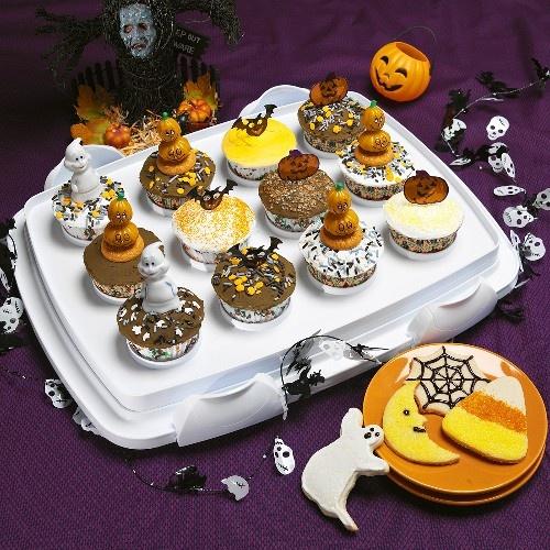 Halloween Cookies and Cupcake Recipe