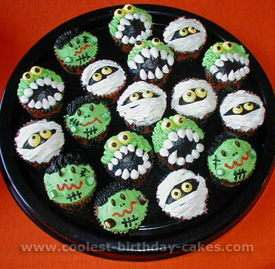 Halloween Cupcake Cake Ideas