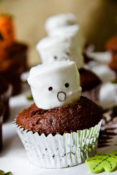 Halloween Cupcakes Marshmallow