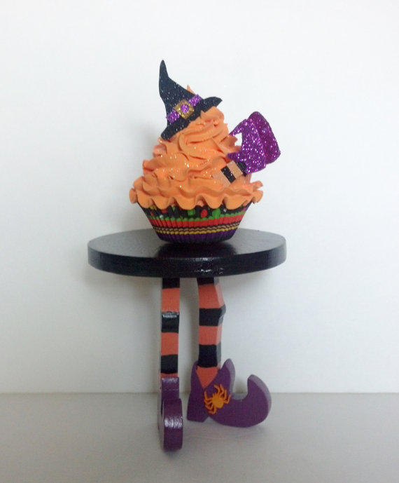 Halloween Cupcakes Witches Legs