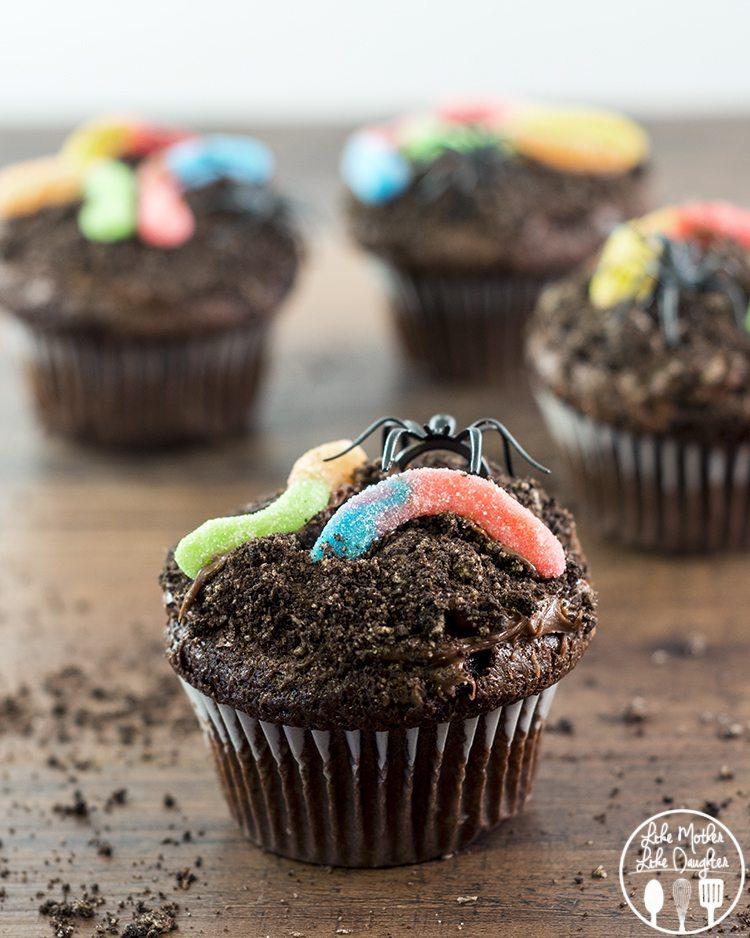 Halloween Dirt Cupcakes Recipes