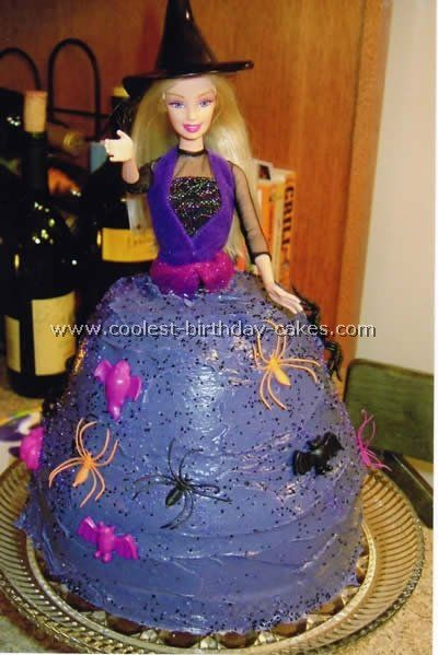 Halloween Witches Birthday Cake