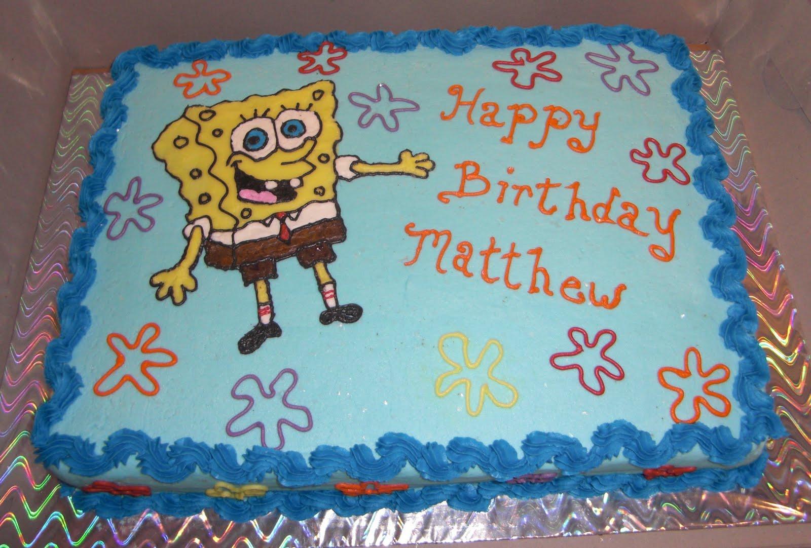 Happy Birthday Matthew Cake