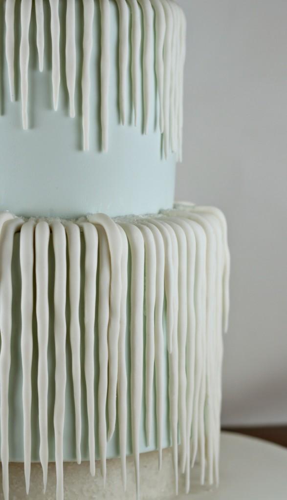 Icicle Birthday Cake